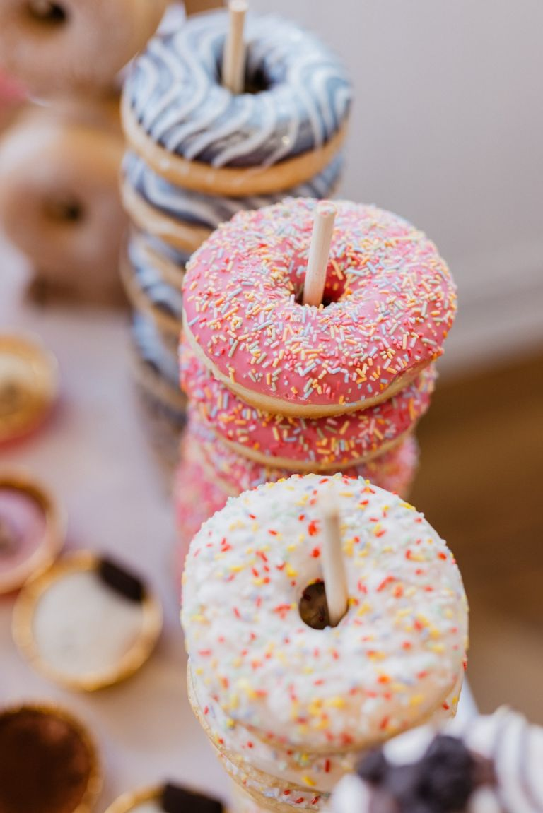 Donuts Instead of Wedding Cake