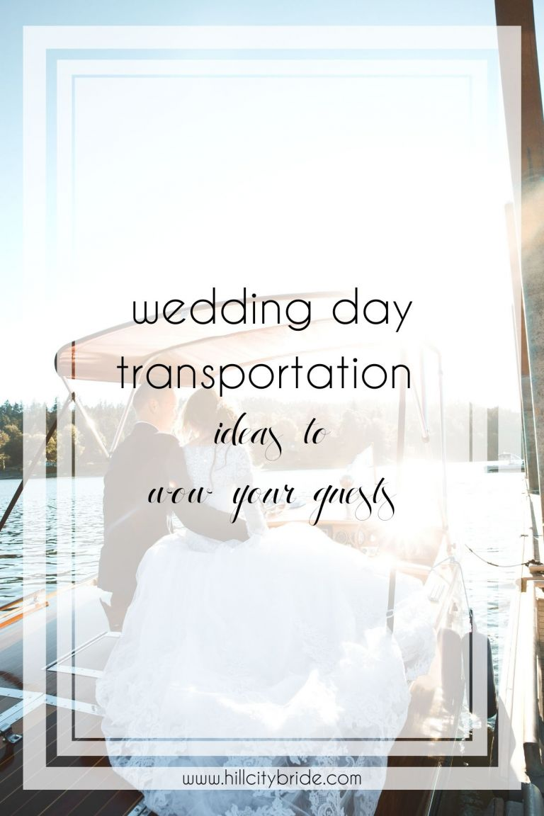 Wedding Day Transportation Ideas to Wow Your Guests